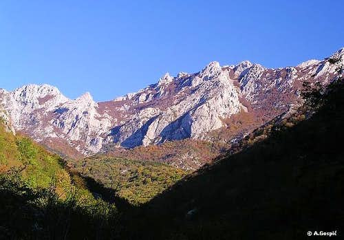 Rapavac from Velika Paklenica