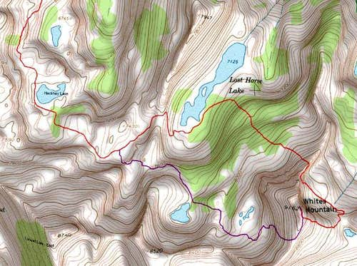 Topo of Ascent and Descent