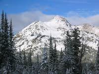 Nice looking mountain, the...