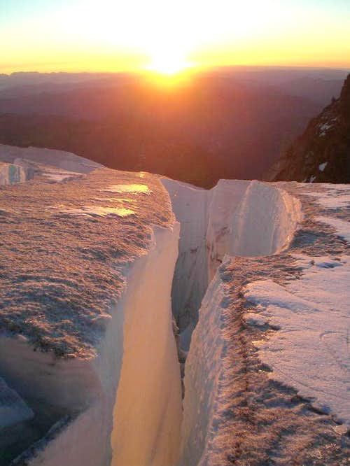 Sunrise below the Cleaver
