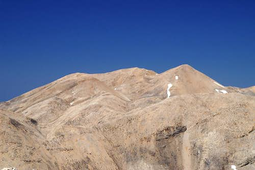 Troharis (2410m), Pachnes (2453m) and Kakovoli (2211m)