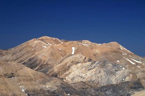 Grias Soros (2331m) and Agio Pnevma (2254m)
