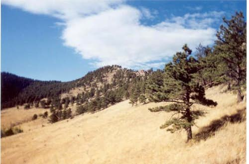 Mount Sanitas, as seen from...