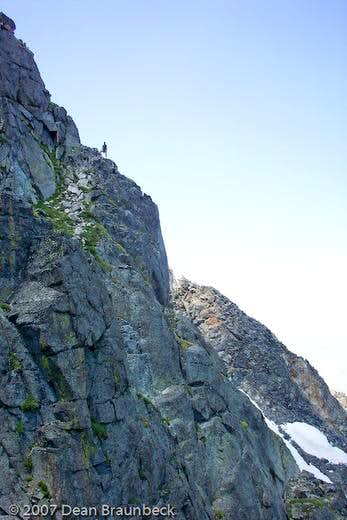 Northeast Arete Pitch 1