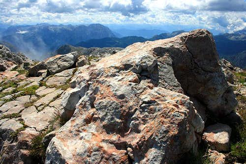 Tennengebirge from Goell summit