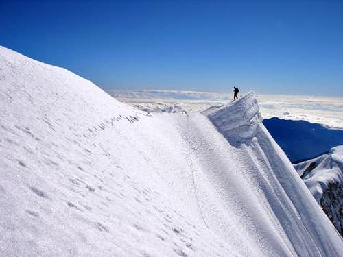 Illampú summit