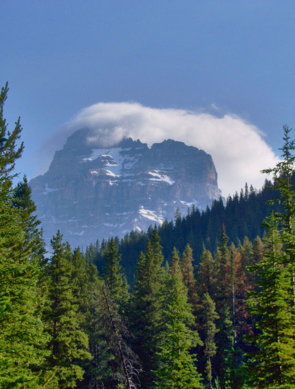 Southwest Face of Mt Assiniboine