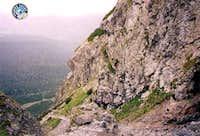 View from Priečne Sedlo