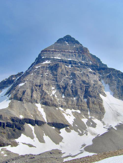North Face of Mt Assiniboine