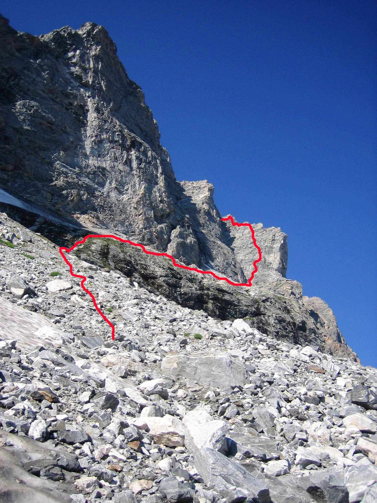 North Northwest Ridge
