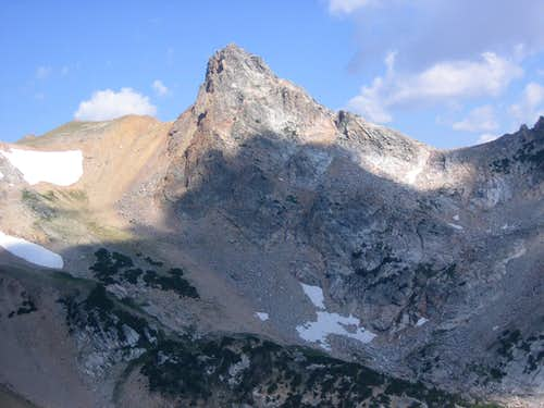 Veiled Peak from Buck