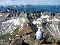 A Climber Enjoys the View
