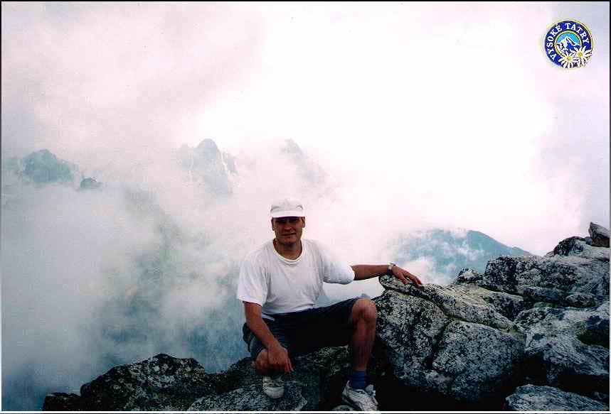 On Top of the Slavkovsky Stit 1998