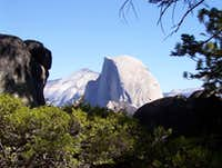 Half Dome from Yosemite Valey Entrance