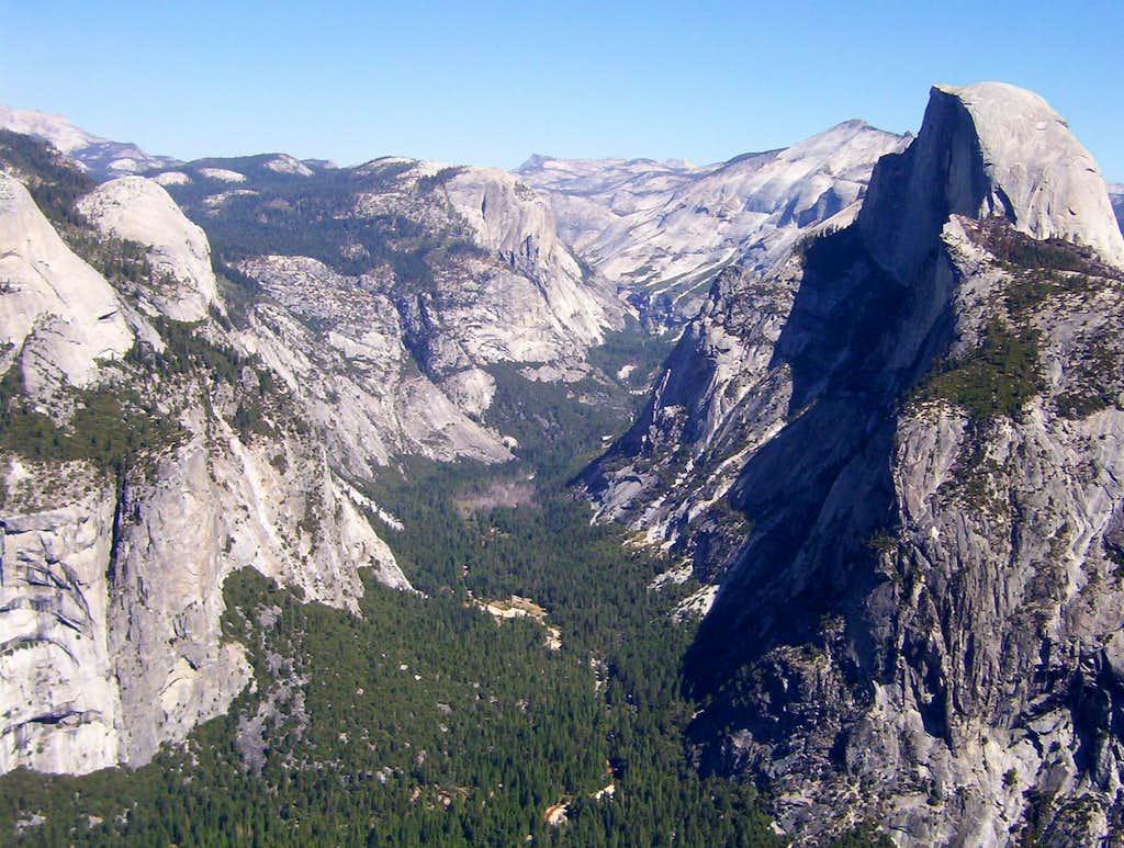 Yosemite Valley Aerial View