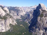 Yosemite Valley Aerial View