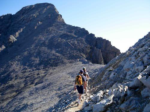 Looking At The Final Climb