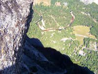 Yosemite Valley from the Top