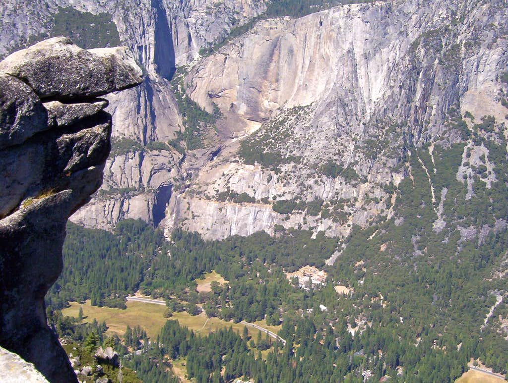 Yosemite Valley and Rock Wall