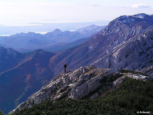Near the Liburnija summit
