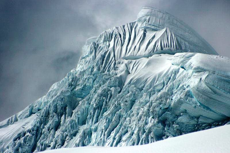 Icy Summit Pyramid of Chopicalqui