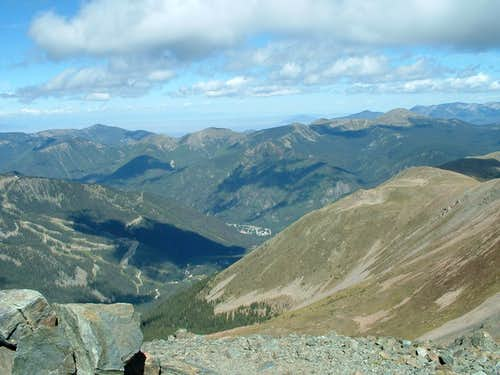 View from Wheeler Peak