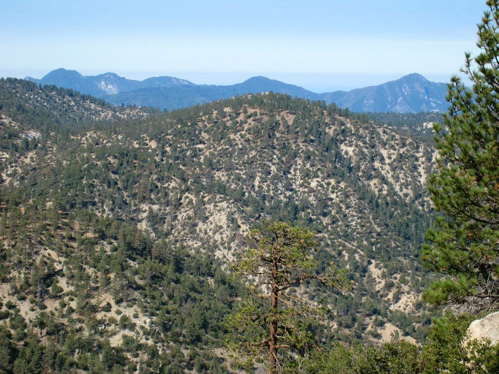 San Gabriel Front Range from High Country