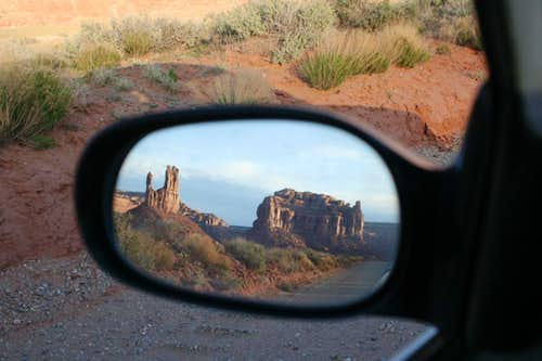 Looking Back, Valley of the Gods, UT