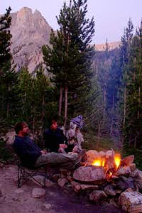 Campfire in Rock Creek