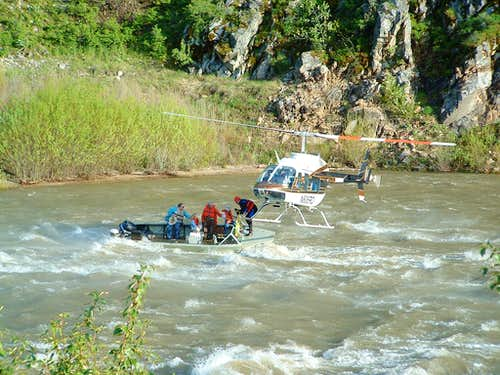 Helicopter Rescue, Payette River Idaho