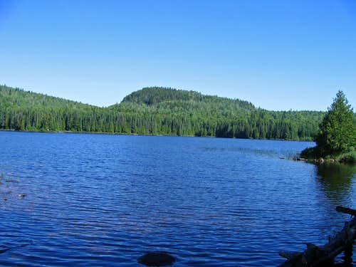 Whale Lake near Eagle Mtn highpoint of MN.