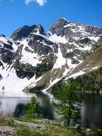 Lago and Pizzo di Trona