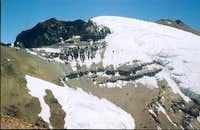 The summit of Cerro Plomo and...