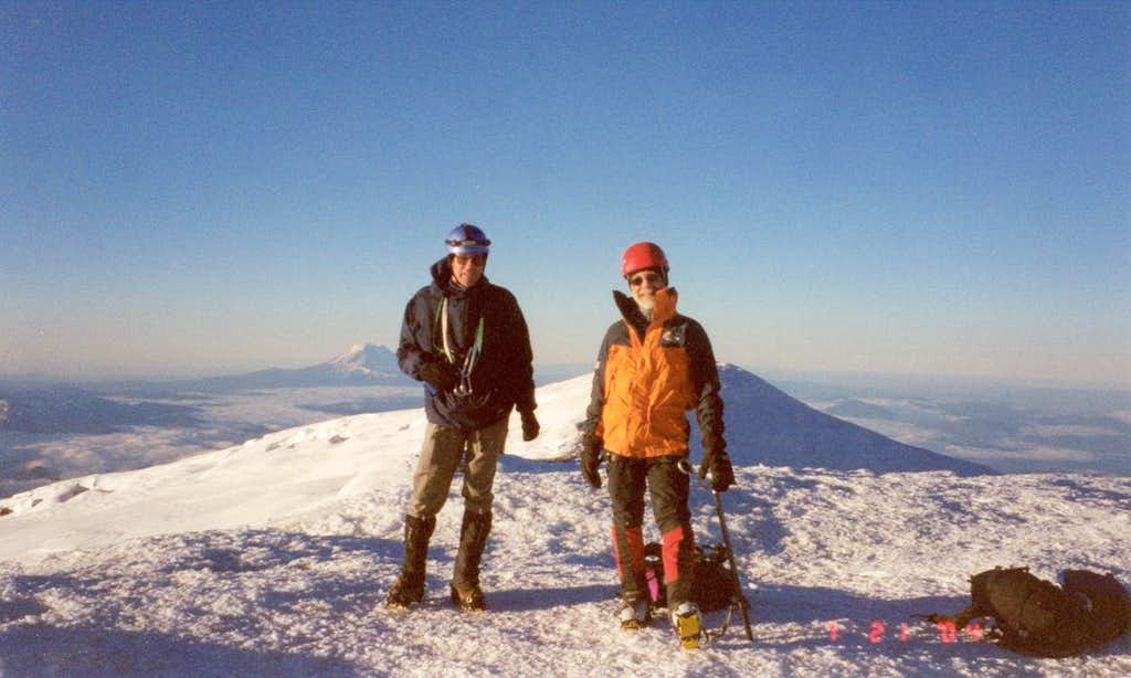 Mt Rainier - summit