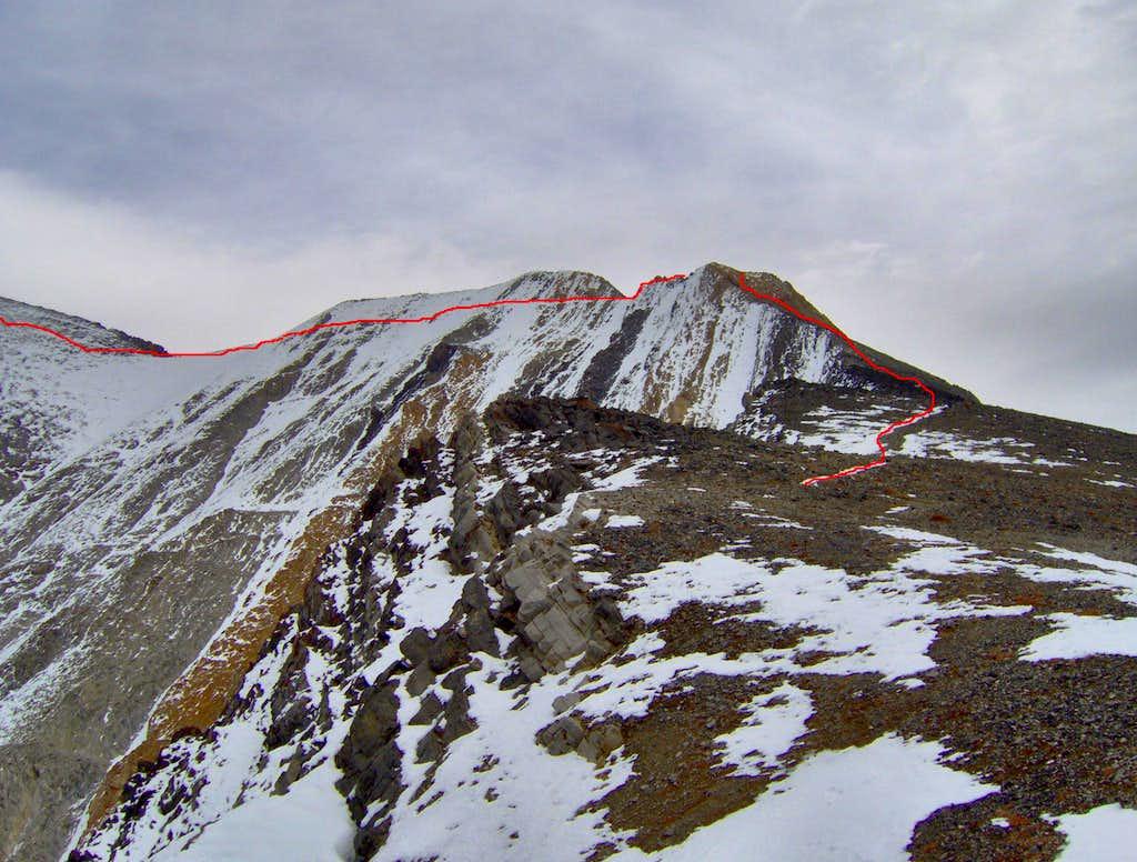 Mt Borah, ID  - Chicken Out Ridge