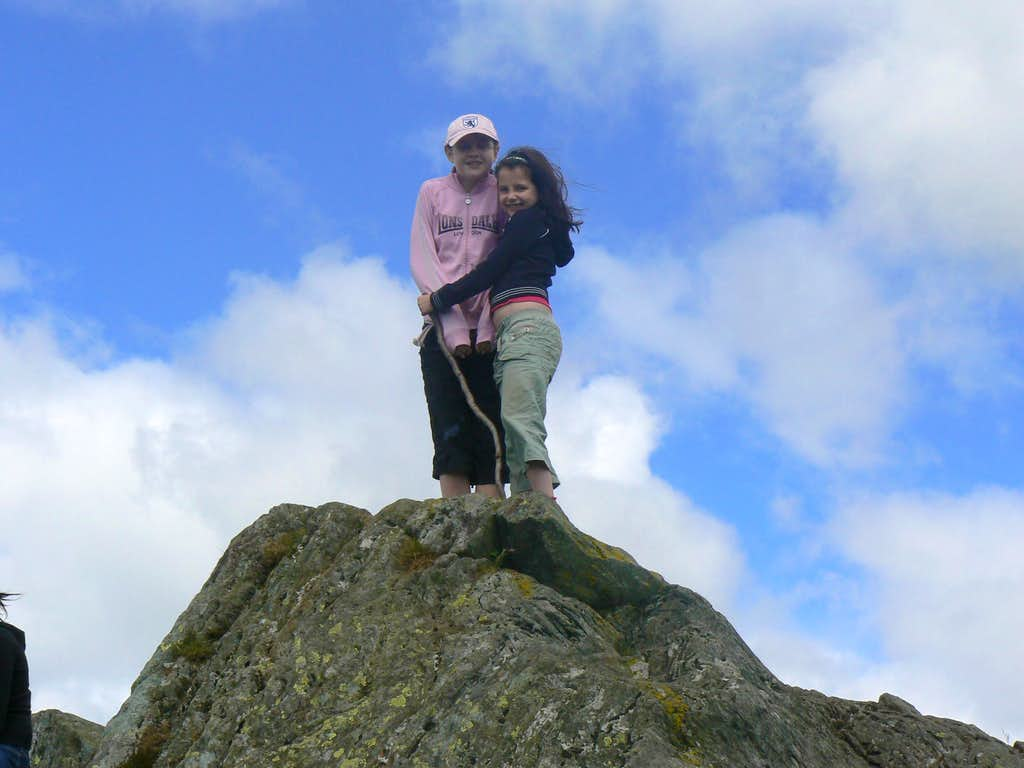 Chelsea & Lauren on the top.