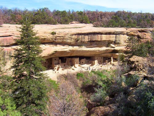 Spruce Tree House in Mesa Verde