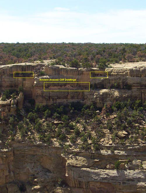 Unnamed Cliff Dwelling Across the Canyon