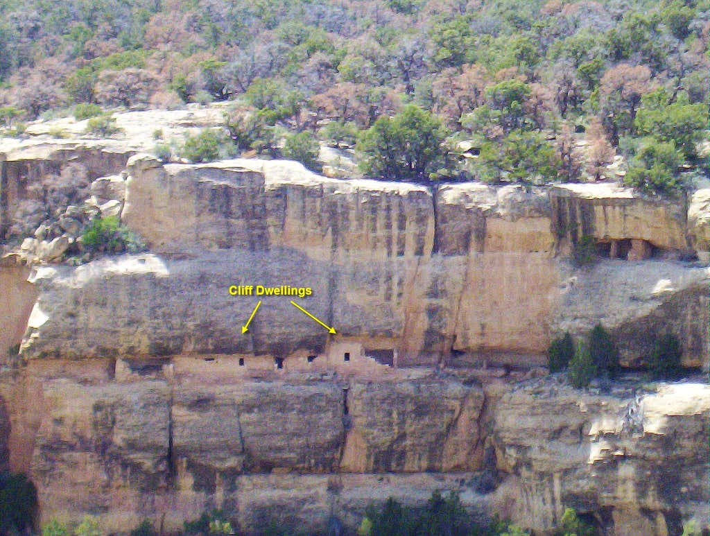 Cliff Dwelling Close-Up