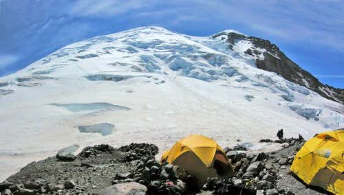 Camp Sherman, Emmons Glacier