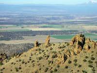 Mendenhall Ridge as seen from...