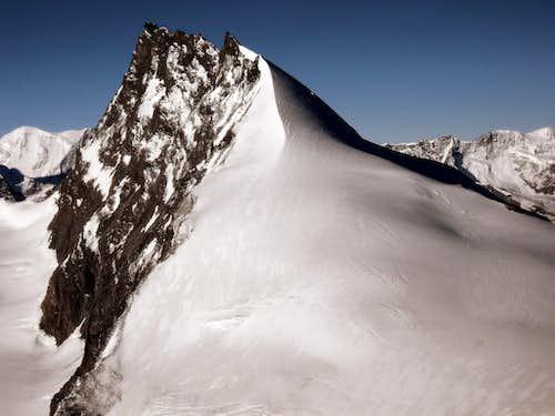 Rimpfischhorn from Allalinhorn summit.