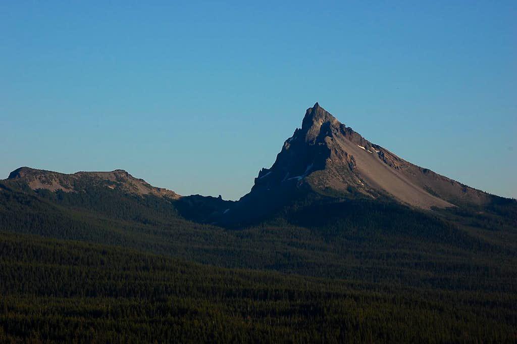 Mt. Thielsen from Cinnamon Butte
