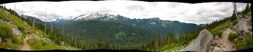 Mt Daniel Panorama