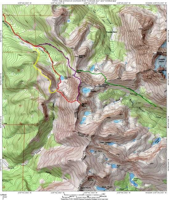 Northwest Ridge loop variation