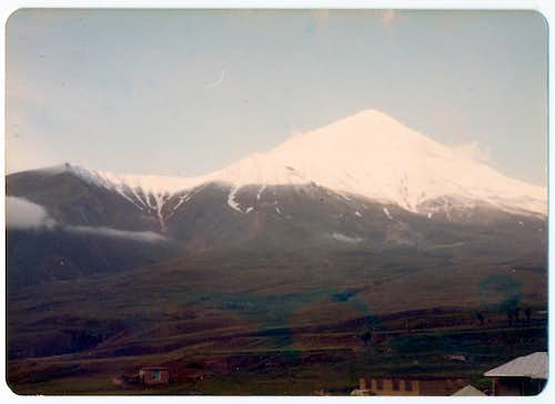 Damavand in Winter