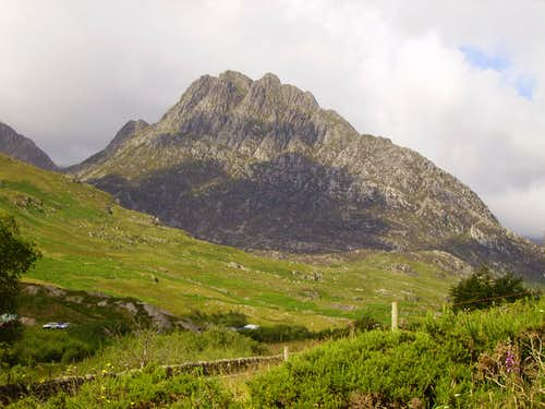 Tryfan from the A5