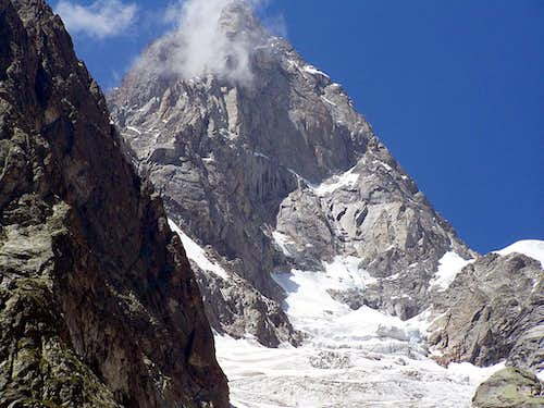 Grandes Jorasses from ESE