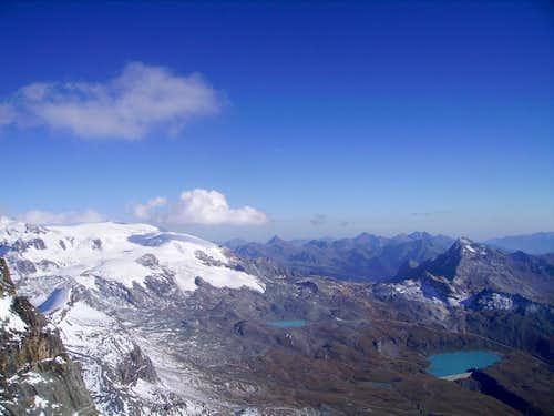 Matterhorn, view from the Carrel Hut