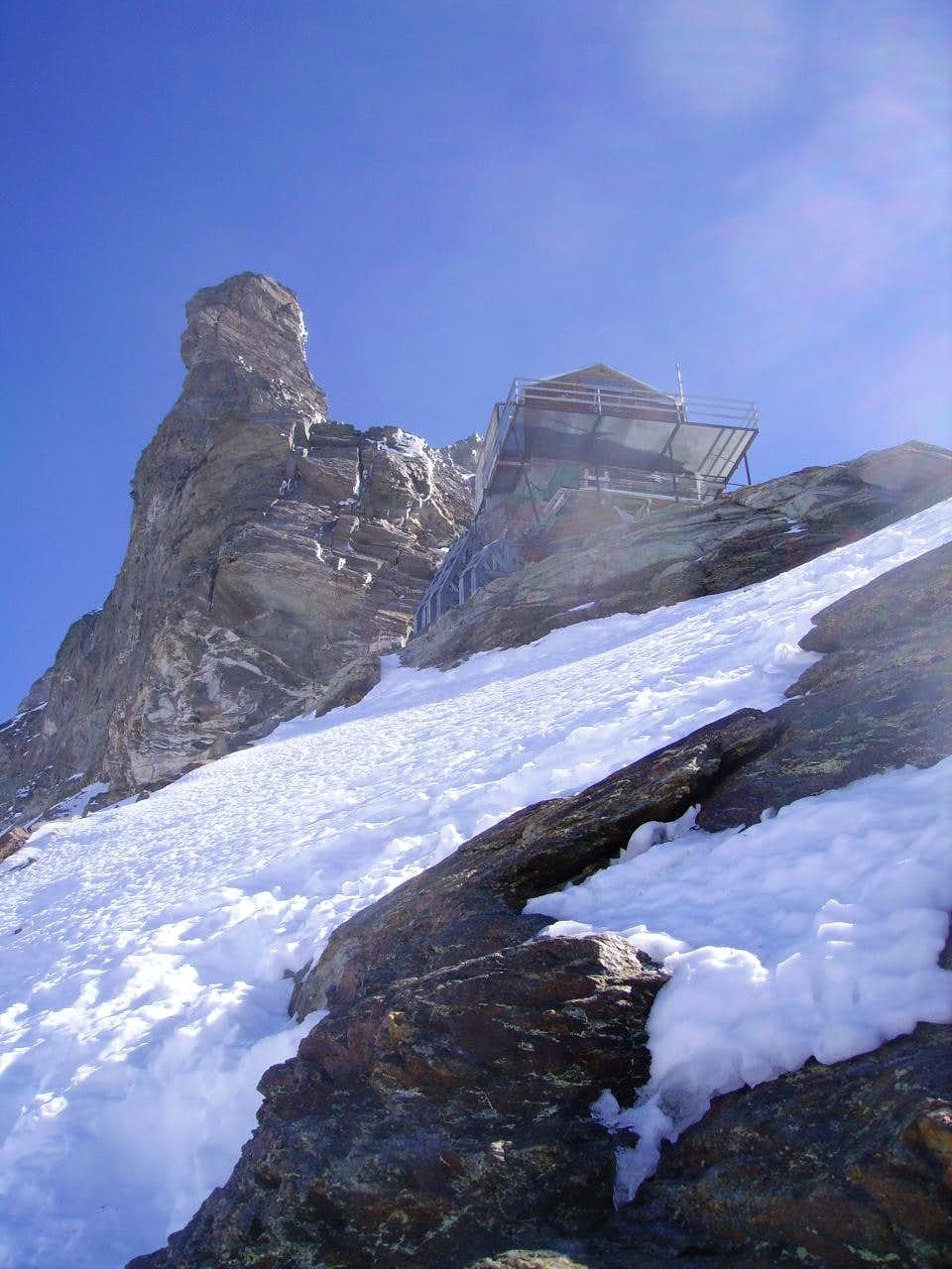 Matterhorn, approaching Carrel Hut